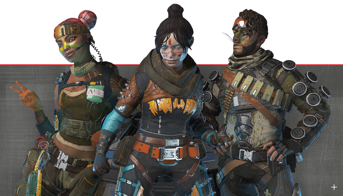 Apex Legends Season 1 Characters