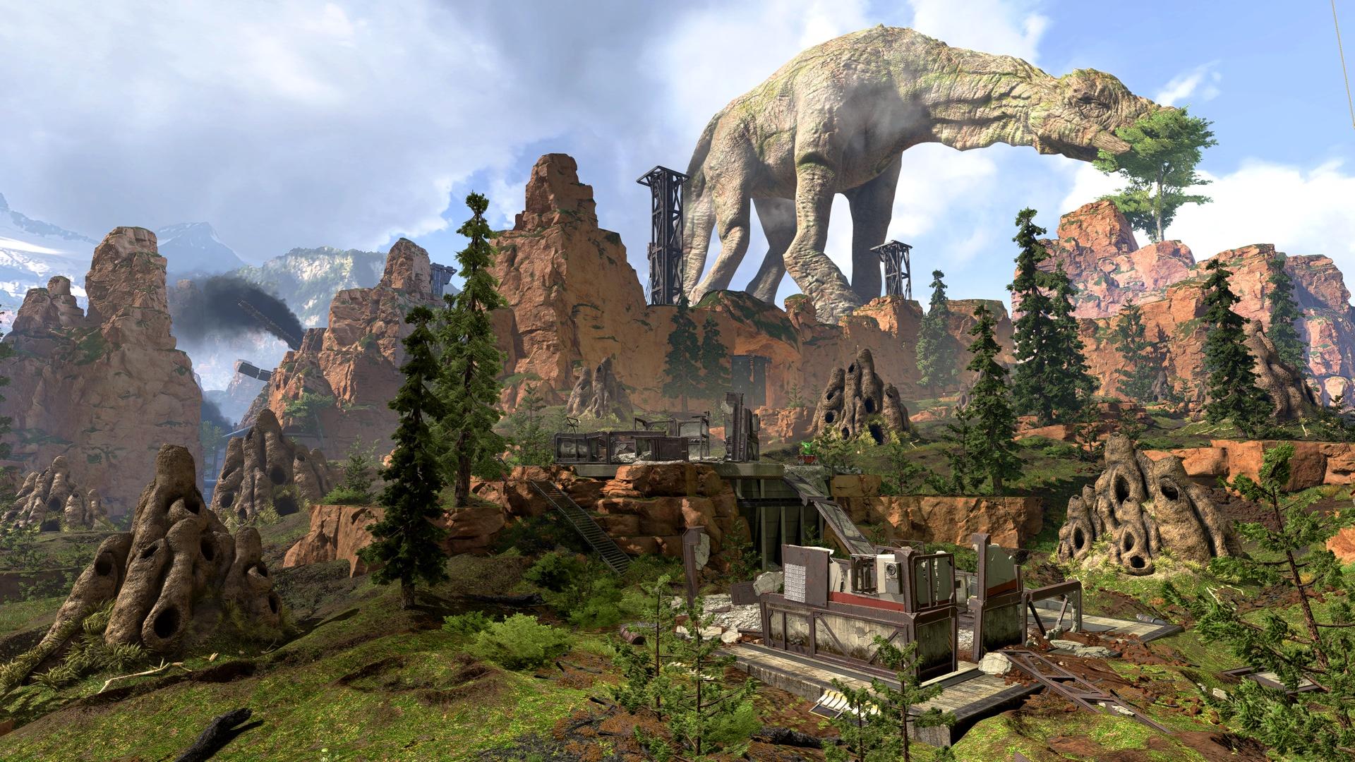 Apex Legends Shattered Forest After
