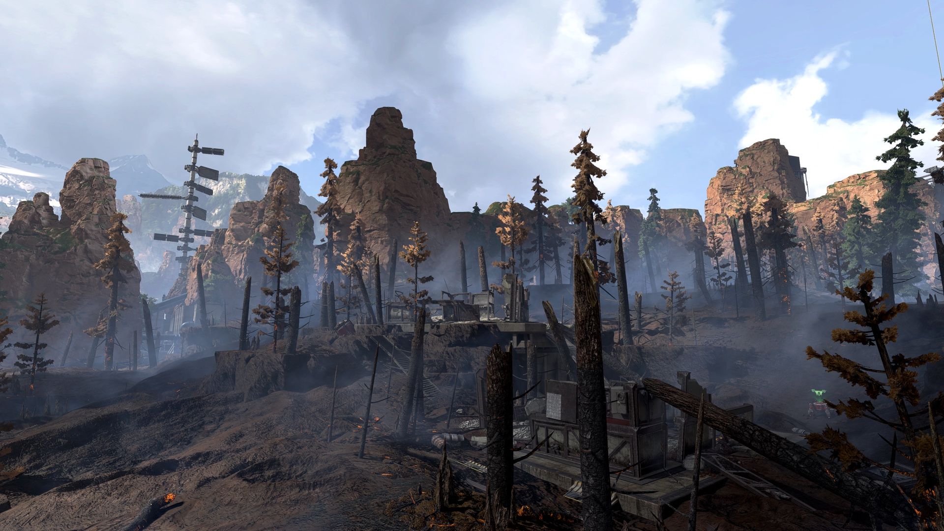 Apex Legends Shattered Forest Before