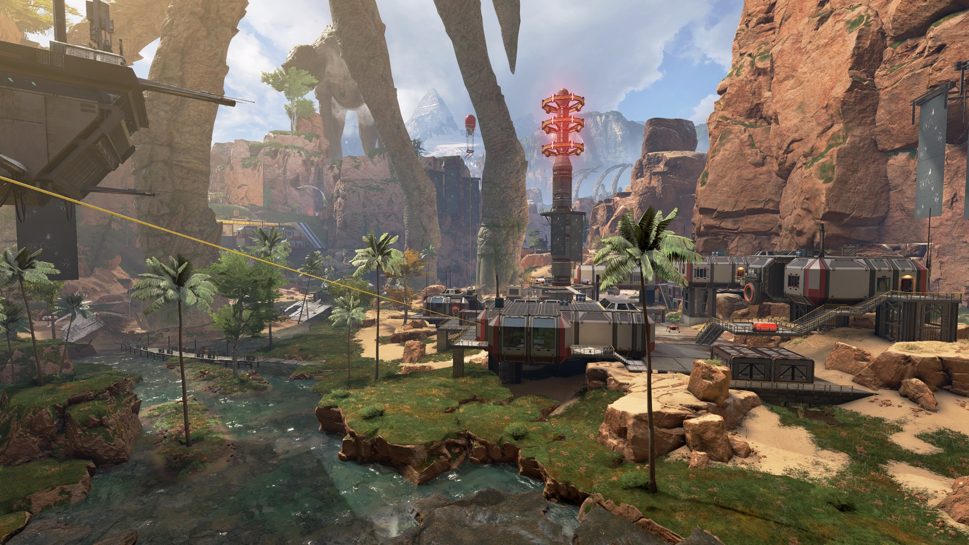 Apex Legends Shipping Container Town After
