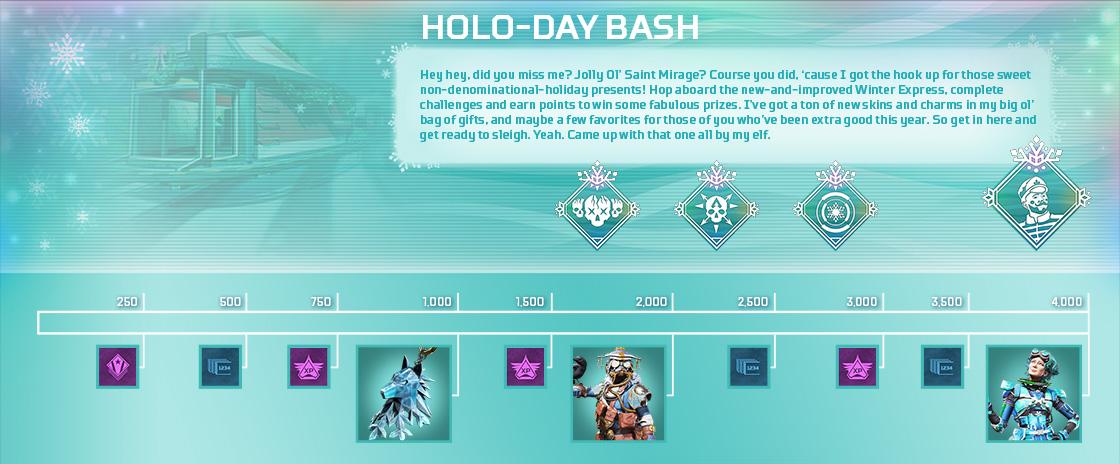 Holo-Day Rewards Track