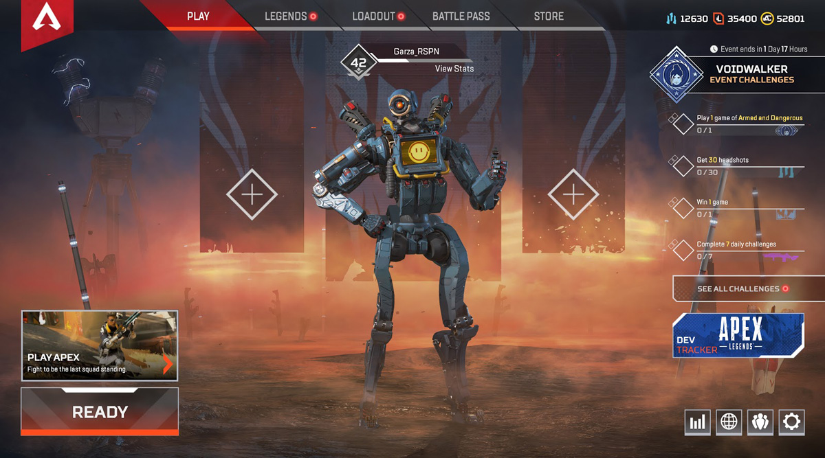 apex legends update 1.18 patch notes, Apex Legends Update 1.18 Patch Notes and File Size Revealed – Here's What's New in the Wraith Voidwalker Event, MP1st, MP1st