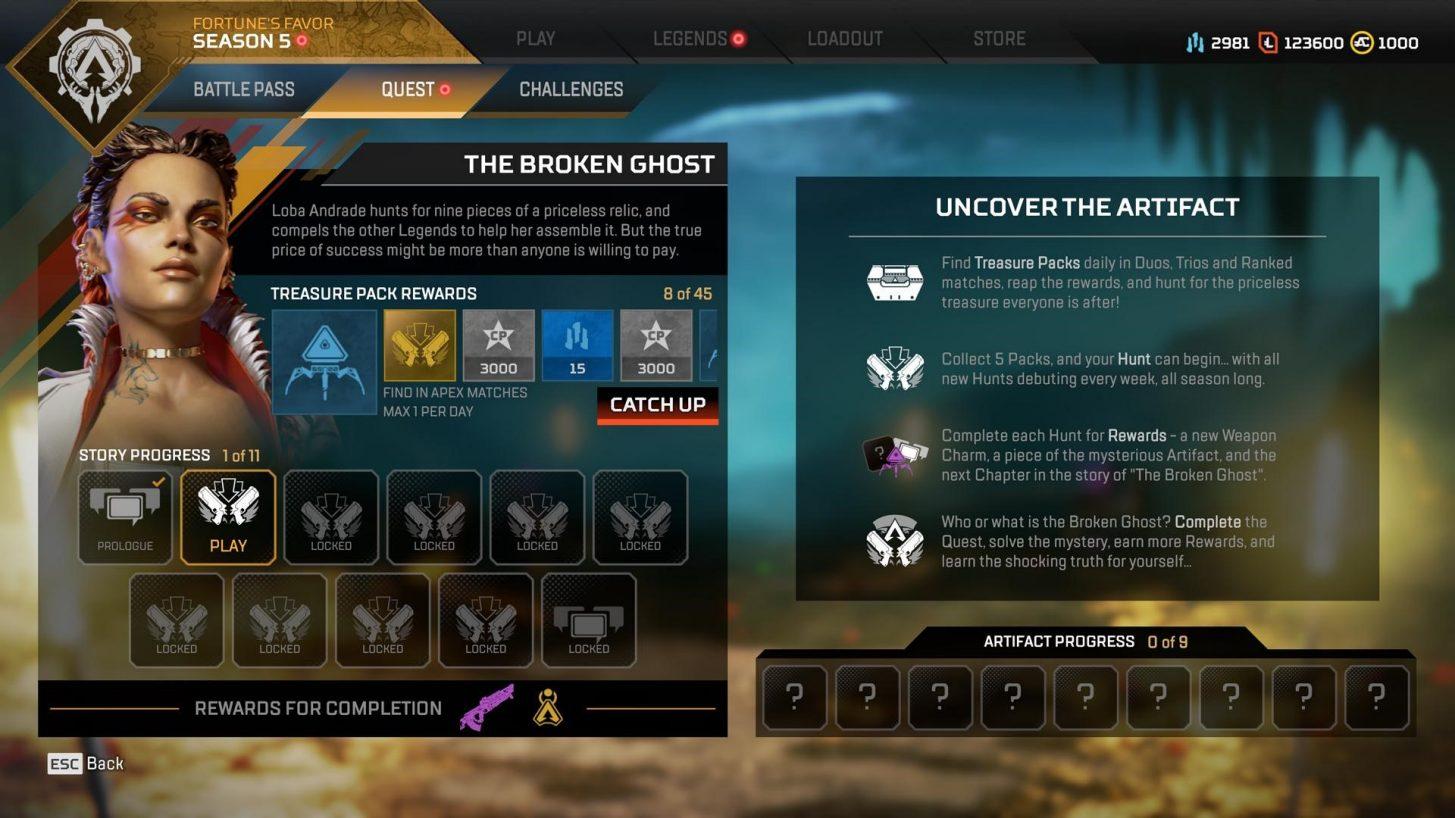 the broken quest