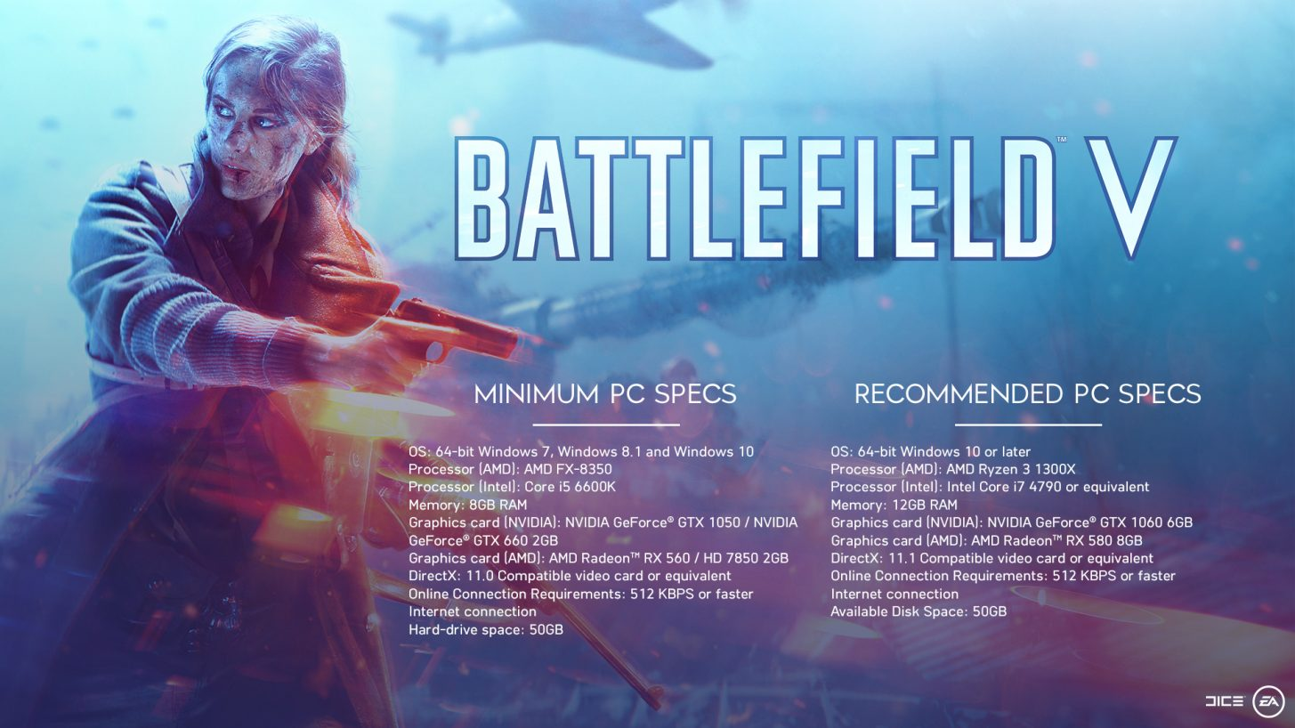 Battlefield V PC Player's Performance guide — Battlefield Forums