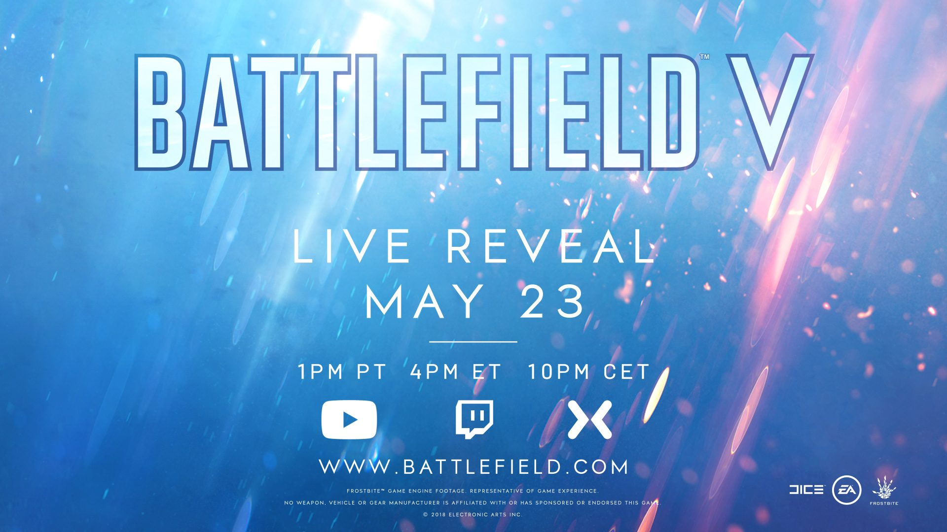 How to Watch the Battlefield V Live Reveal