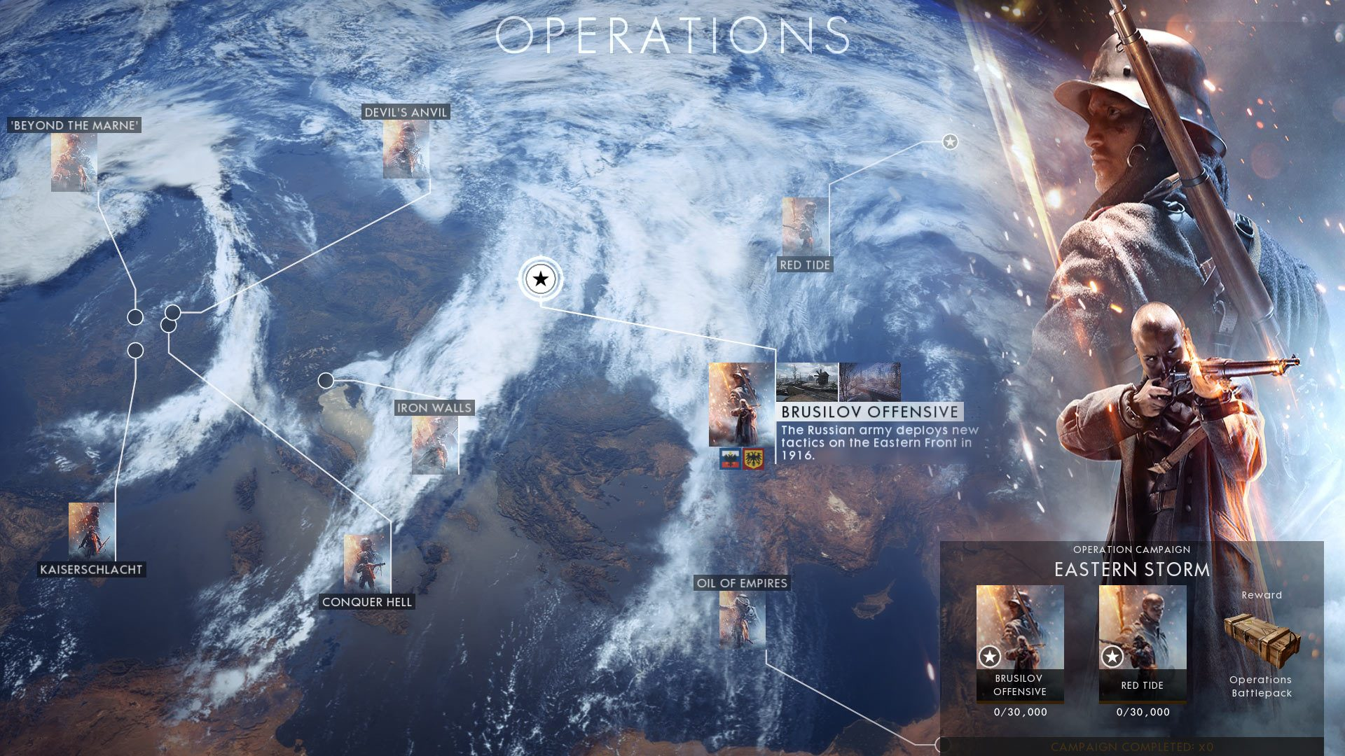 battlefield 1 operation campaigns update