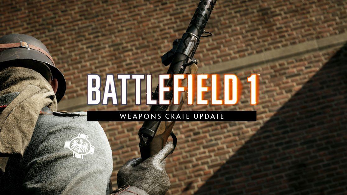 La À Jour Des Battlefield 1 Version Mise D'armes Notes De Caisses erxBWdoQC