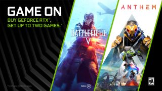 Get Battlefield V and Anthem with the GeForce RTX Bundle