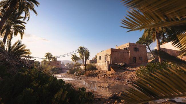 Battlefield 5 Sudan map