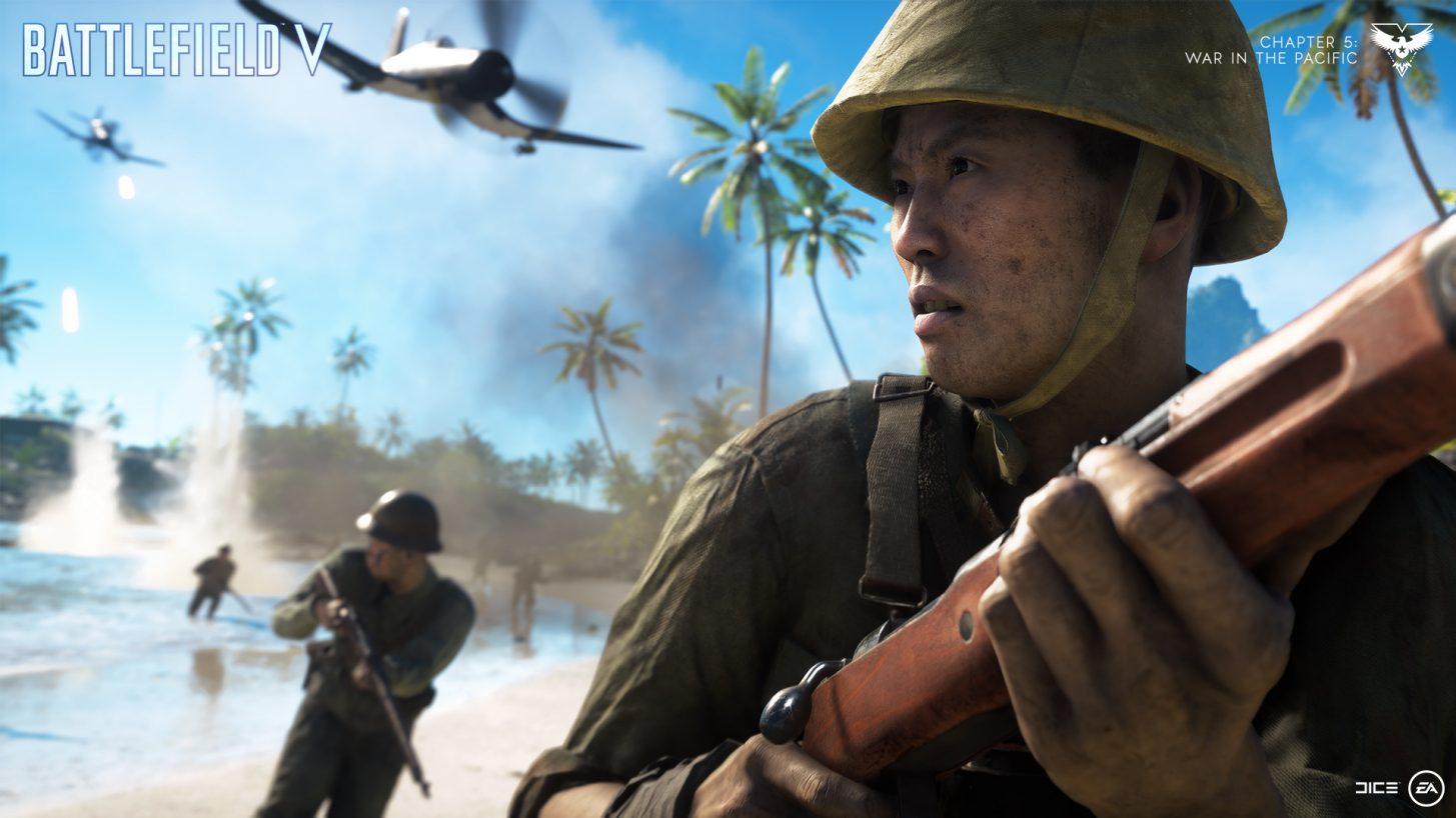 Battlefield V Year 2 se encuentra disponible con la llegada del frente del Pacífico