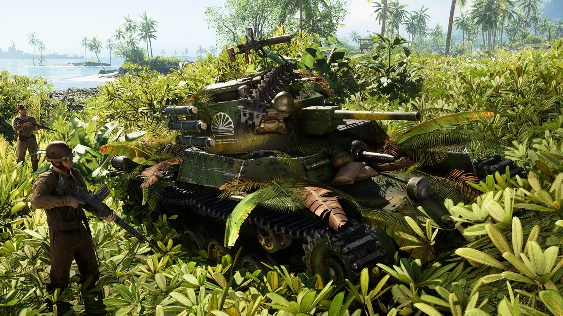 Esto es todo lo que llegará con 'Guerra del Pacífico' a Battlefield V 1