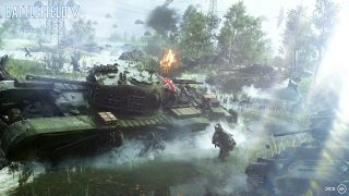Battlefield 5 tank gameplay