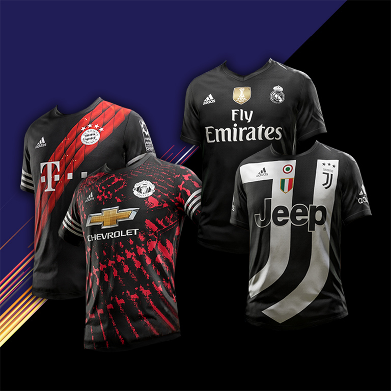 FIFA 18 EA SPORTS x adidas Digital 4th Kits - Official Site
