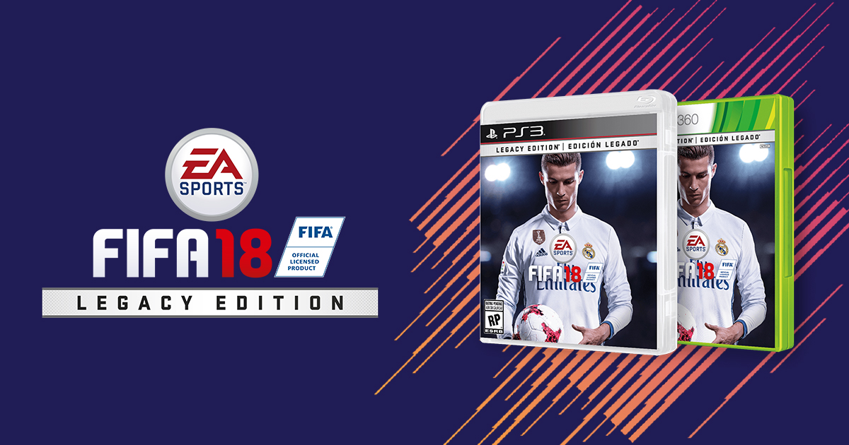 5b53176d6 Buy FIFA 18 Legacy Edition - Xbox 360 and PS3 - EA SPORTS Official Site