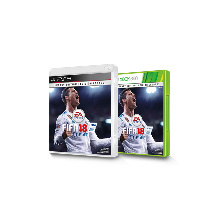 Buy FIFA 18 Legacy Edition - Xbox 360 and PS3 - EA SPORTS Official Site
