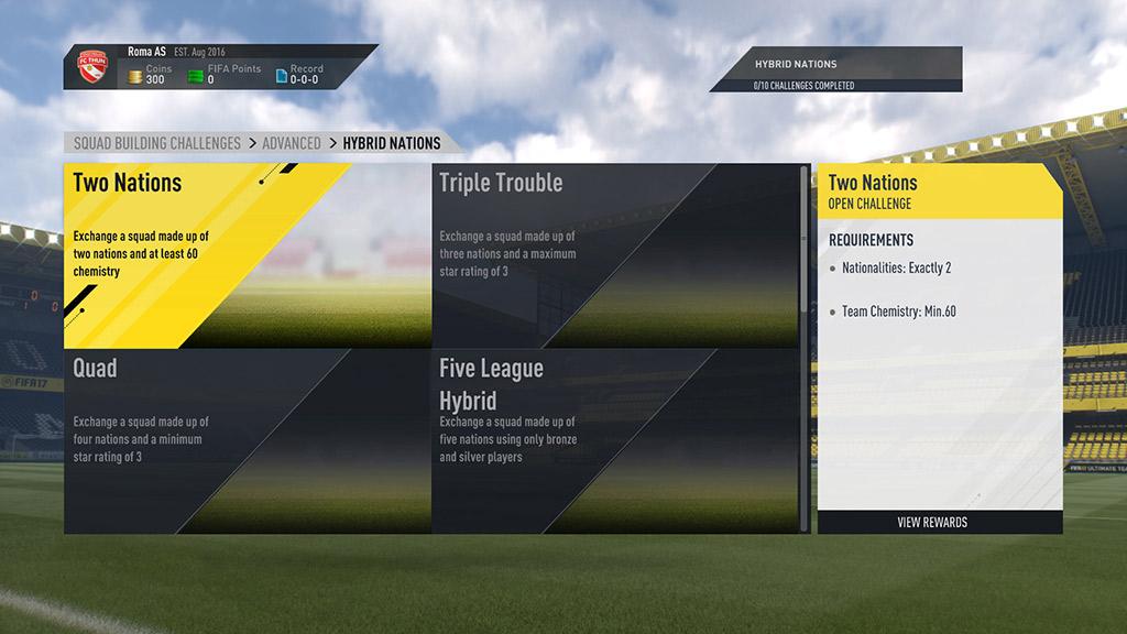 Fifa Squad Building Challenge Germany