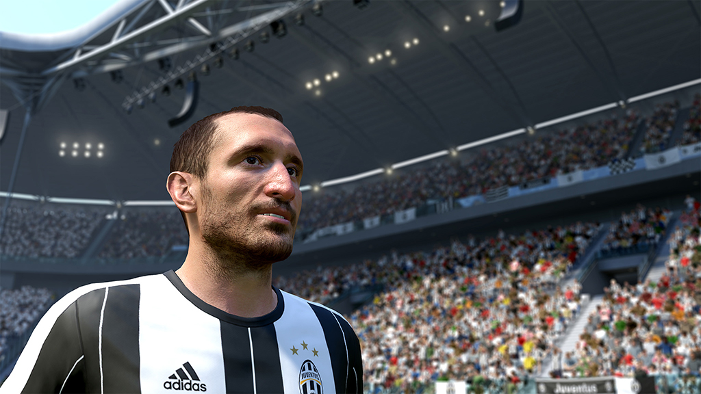 Juventus Fifa 17 Ea Sports Official Video Game Partner