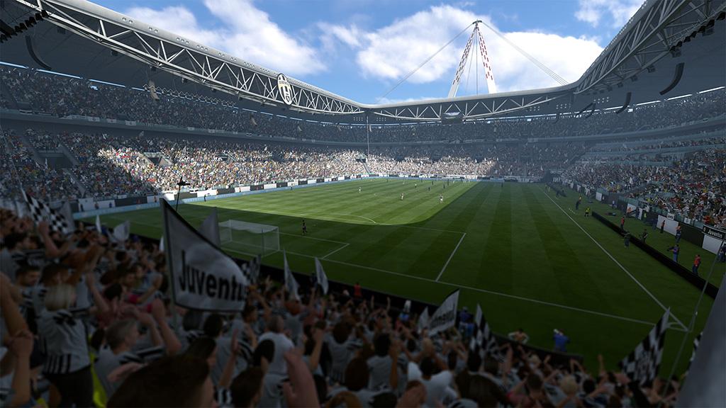 Juventus Stadium Screenshot FIFA 17