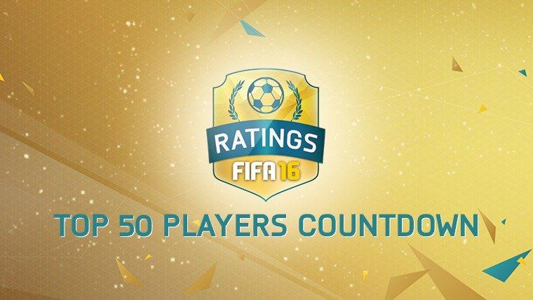 FIFA 16 Player Ratings - Top 50