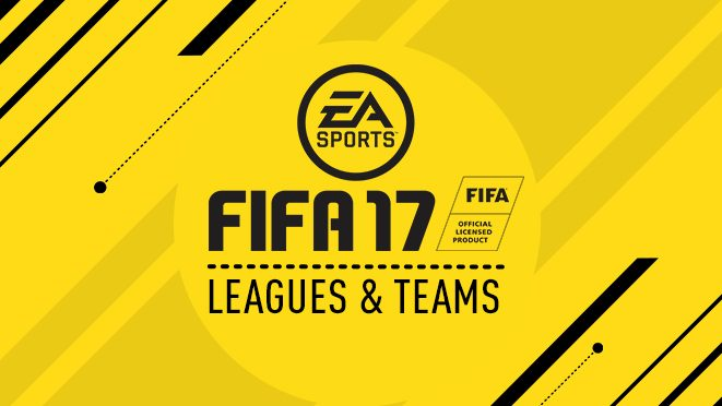FIFA 17 - All Leagues & Teams in FIFA 17