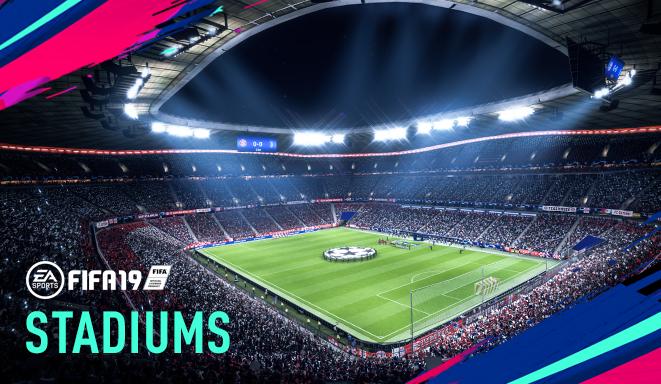New Fifa 19 Stadiums Laliga Santander Premier League And More