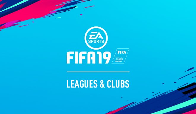 f23c04563e FIFA 19 — Todas as Ligas e Clubes