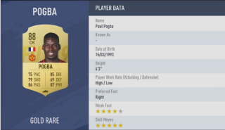 FIFA 19 Player Ratings — 5 Star Skillers