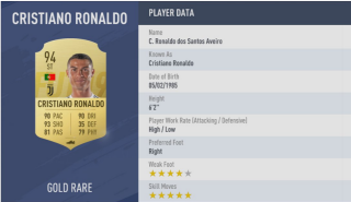 FIFA 19 Player Ratings — 5 Star Skillers