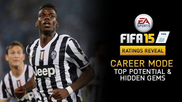 FIFA 15 Player Ratings - Career Mode - Top Potential & Hidden Gems