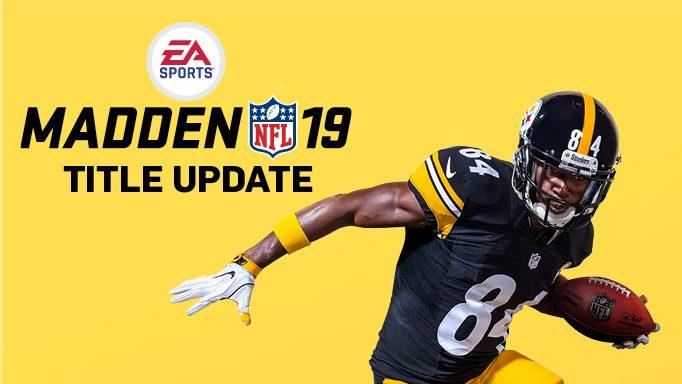 Madden NFL 19 August Title Update 136f38d24