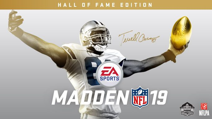 cfb750ac2c Madden NFL 19  Hall of Fame Edition