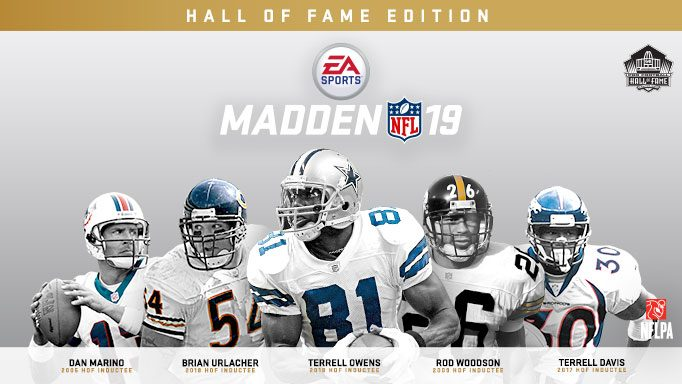 madden 19 hall of fame edition early release date