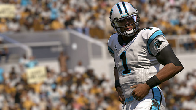 Madden 17 Player Portrait-Cam Newton