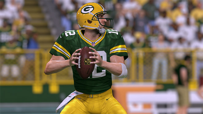 Madden 17 Player Portrait-Aaron Rodgers