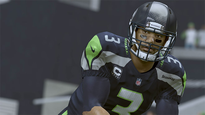 Madden 17 Player Portrait-Russell Wilson