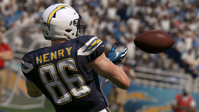 Madden 17 Player Portrait-Hunter Henry