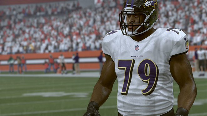 Madden 17 Player Portrait-Ronnie Stanley
