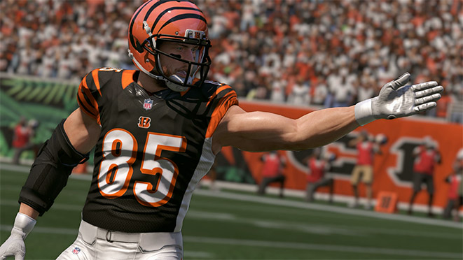 Madden 17 Player Portrait-Tyler Eifert