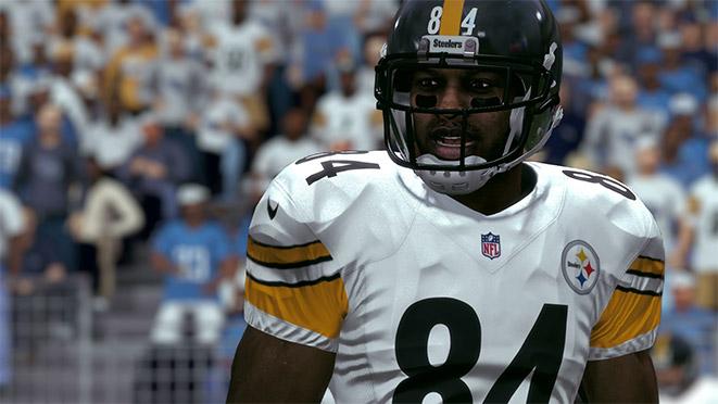 Madden 17 Player Portrait-Antonio Brown