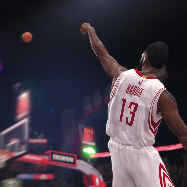 faf51f4be85 James Harden - NBA LIVE 18 Cover Athlete - EA SPORTS Official Site