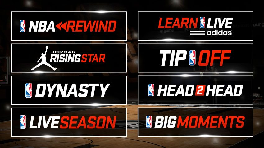 Modes in NBA LIVE 15