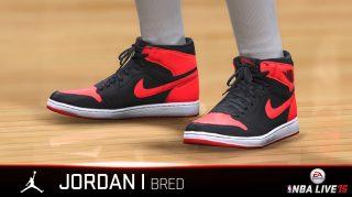 Sneakers in NBA LIVE 15