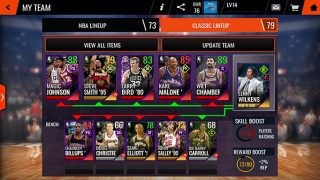 New Lineups and Coaches - NBA LIVE Mobile Tip-Off