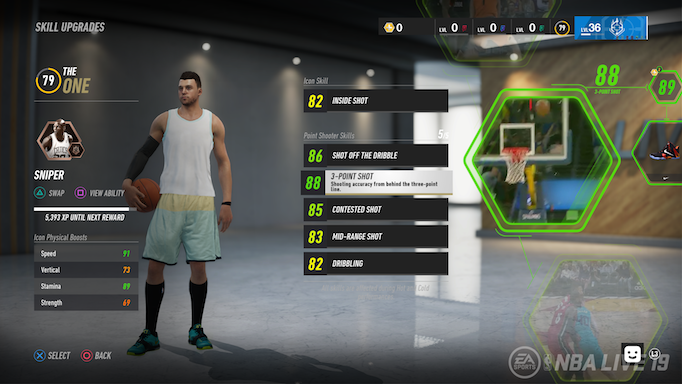 NBA LIVE 19: Introducing the New Icon System