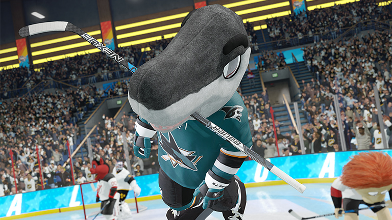 Nhl 18 Mascots Ea Sports Official Site