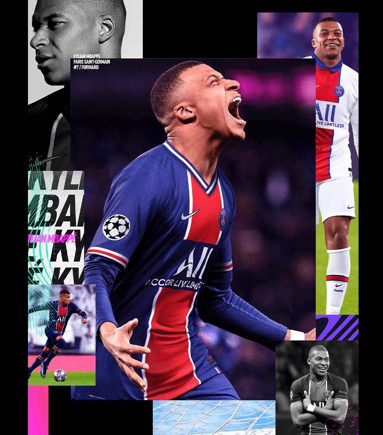 FIFA 21 Cover Star - Kylian Mbappé - EA SPORTS Official Site
