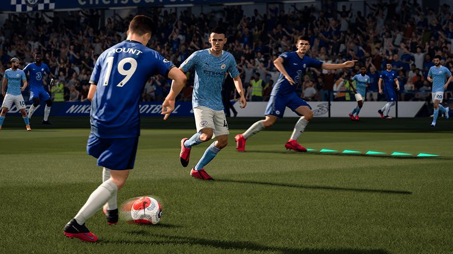 PS4 FIFA 21 Gameplay