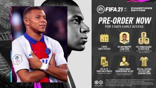 Vorbestell-Vorteile für die FIFA 21 Champions Edition