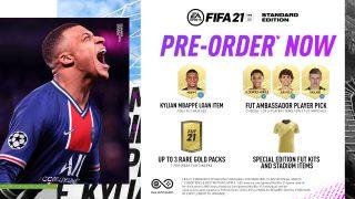 Vorbestell-Vorteile für die FIFA 21 Standard Edition