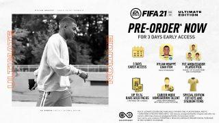 Vorbestell-Vorteile für die FIFA 21 Ultimate Edition ab 14. August